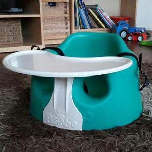 $40 obo- Bumbo Chair with Safety Straps and Tray-Great Condition
