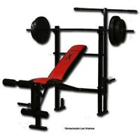 Competitor Brand Home Gym With Weights