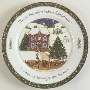 Twas The Night Before Christmas Dinnerware set