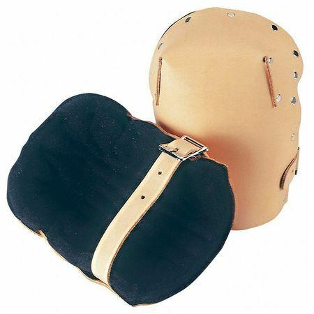 Clc 313 Knee Pads,Leather,Foam,Brown