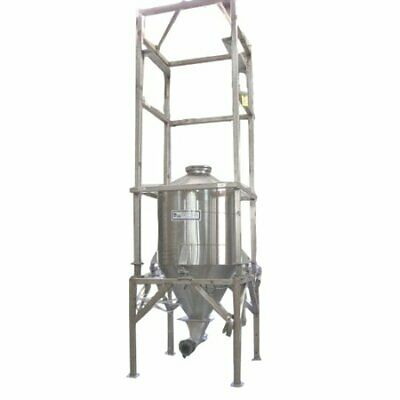 Used 58 Cubic Foot Horizon Stainless Steel Weigh Bin Vacuum Unload