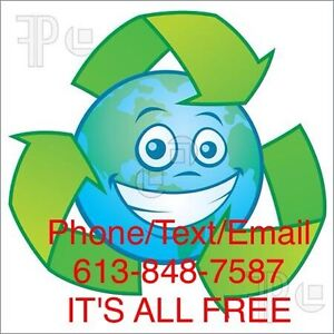 I WILL TAKE AWAY YOUR SCRAP METAL AND APPLIANCES FOR RECYCLING