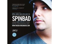 DJ Spinbad with Special Guests DJ Matman & Jazz T at Red Gallery Shoreditch on October 08, 2016