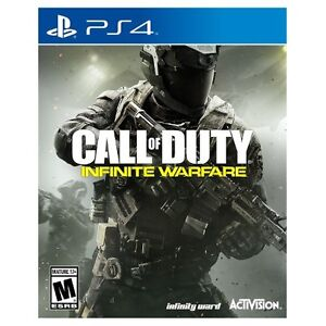 Call of Duty Infinite Warfare for Playstation 4-Brand new sealed