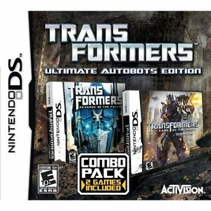 BRAND NEW Transformers Ultimate Autobots Edition - Nintendo DS