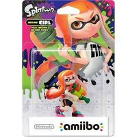 Inkling Girl + Inkling Boy Amiibo For $35