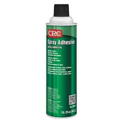 Crc 03018 Spray Adhesive 24 Oz Aerosol Can Begins To Harden In 10 To 30 Sec