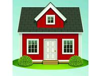 2-3 bed house required