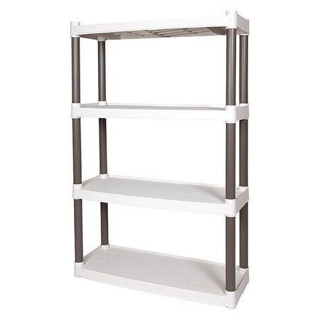 Plano Molding Pla40510 Freestanding Plastic Shelving, Open Style, 13 In D, 32