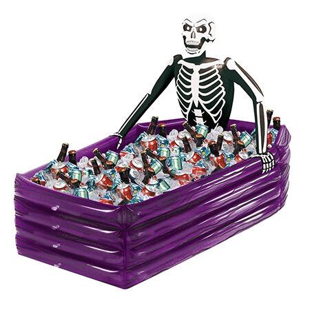 Inflatable Skeleton Drinks Cooler Halloween Decoration