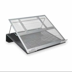 Rolodex Two-Tone Metal Mesh Laptop Stand
