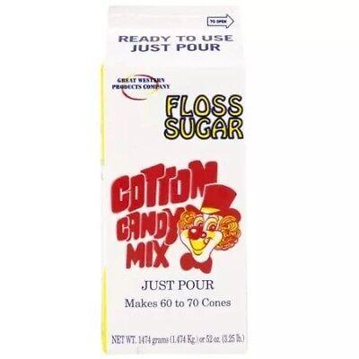 Cotton Candy Floss Mix 12 Gallon Cartons