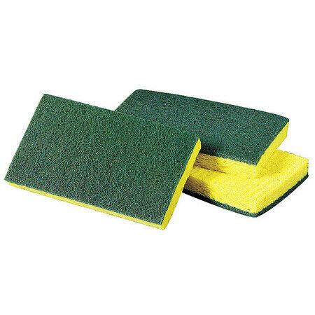 "3M 74 Scrubber Sponge,6"" L,3-5/8"" W,Pk20"