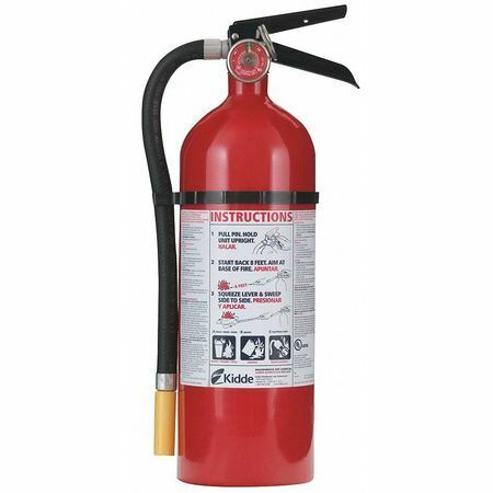 KIDDE PRO5MP Fire Extinguisher, 3A:40B:C, Dry Chemical, 5 lb.