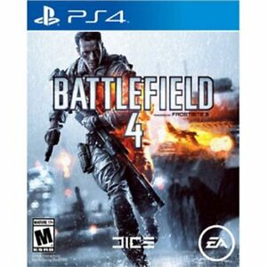 Battlefield 4 PS4 game disk