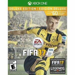 FIFA 17 Deluxe edition Xbox1 new sealed