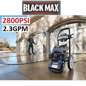 NEW* 2800PSI GAS PRESSURE WASHER BM802823 213672453 2.3GPM 173cc BLACK MAX CLEANING OUTDOOR