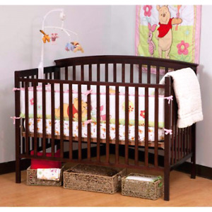 Storkcraft - Bradford Fixed-Side Convertible Crib (4 in 1)