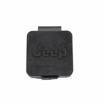 JEEP Trailer hitch reciever plug cover W/Logo 2 inch NEW OEM MOPAR 82208453AB Logo Hitch Plug