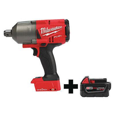 MILWAUKEE 2864-20, 48-11-1850 Impact Wrench,Cordless,Compact,18VDC