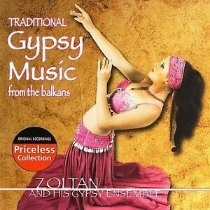 NEW Traditional Gypsy Music from the Balkans (Audio CD)