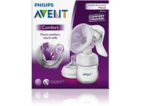 Avent natural manual breast pump & bottle