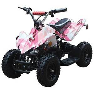 GIRLS MINI ELECTRIC PINK QUAD