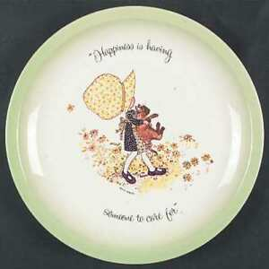 1972 Holly Hobbie Collector's Edition Plate