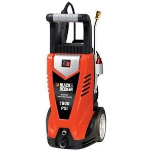 Black & Decker 1900psi at 1.5gpm Electric Pressure Washer