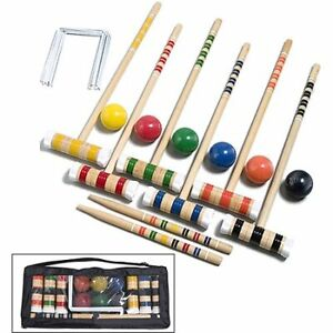 Croquet set 6 players (Brand New in Bag)