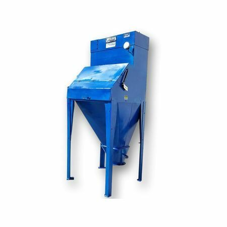 Used Young Bag Dump Station Unloader Size 10-3-c