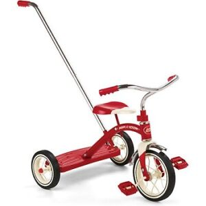 Radio Flyer Classic Red Trike With Trainning Handle