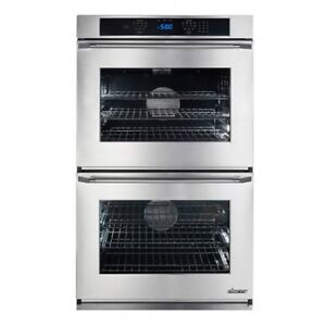 """DACOR RENAISSANCE 30"""" STAINLESS STEEL DOUBLE WALL OVEN"""