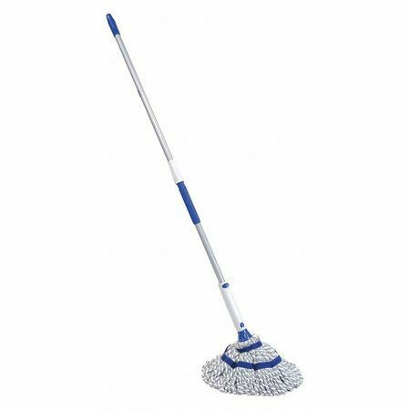 "Quickie 72036M4 Twist Mop,Blue,7-3/4"" L"