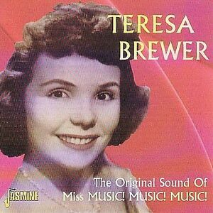 TERESA BREWER The Original Sound of Miss Music Music Music cd - brand new