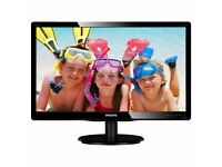 """Philips V-line 21.5"""" Computer Monitor - Under 2 years Old"""