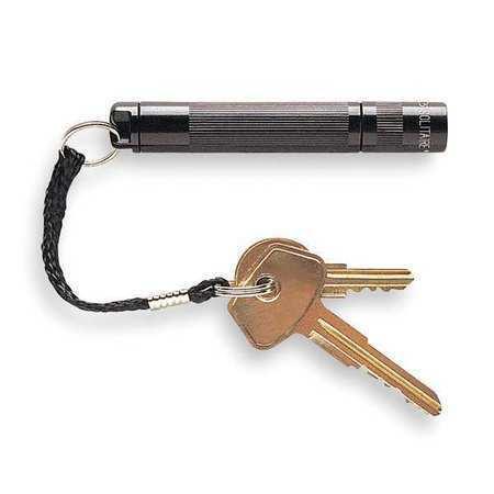 Maglite K3a756k Industrial Mini Flashlight,Incand,Black