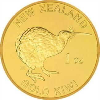1 oz Gold Kiwi Bullion Coin