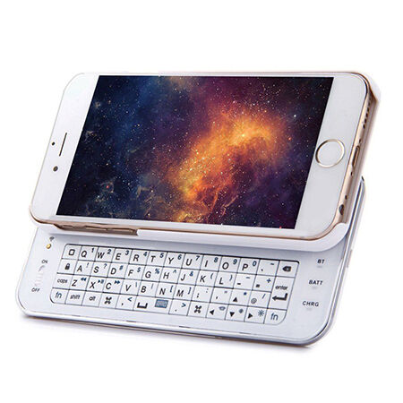 Bluetooth Sliding out Keyboard Case Cover for iPhone