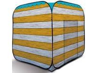 THE OLPRO BEACH HUT utility tent pop up BRAND NEW STOCK CLEARANCE
