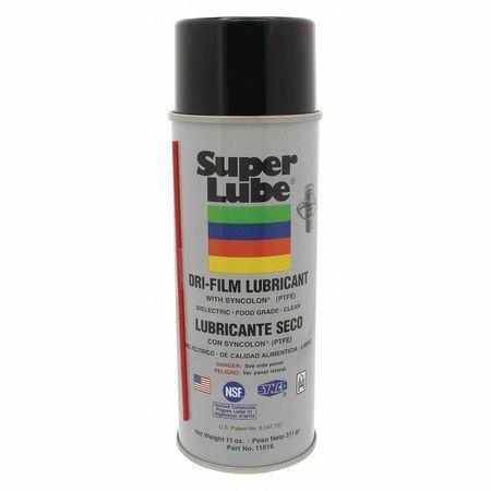 Super Lube 11016 Dry Film Ptfe, Aerosol Can, 11 Oz.