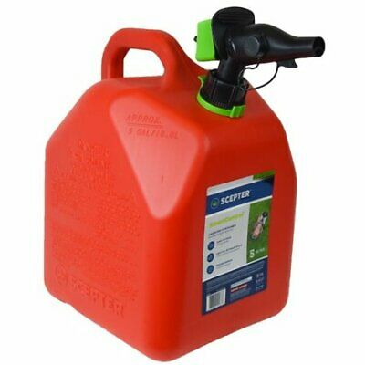 Scepter 5 Gallon Smartcontrol Gas Can Fr1g501 Red