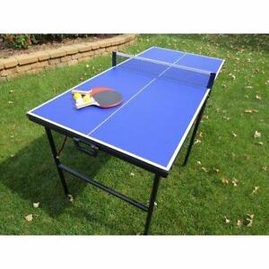 "BlueWave Products TABLE TENNIS NG2305P Crossover 60"" Portable Table Tennis"