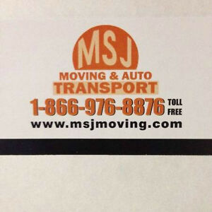 MSJ Movers:Kitchener,Montreal,Guelph, Kingston,Toronto,Ottawa