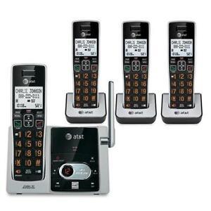 AT&T CL82413 DECT6.0 EXP.CLS 4HS PHN W/ANS/T.CID