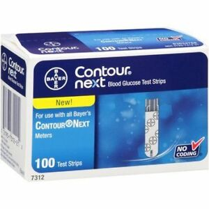 Contour Next Test Strips 3 Bottles (2 In Sealed Box) $30 For All