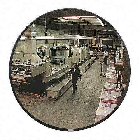 Zoro Select Dcvi-36T-Vt Indoor Convex Mirror,36 In Dia,Acrylic