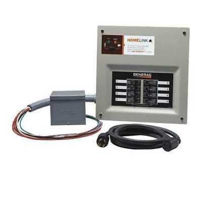 Generac 6853 Generator Transfer Switch System 30a 6-8 Circuits