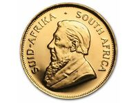 1980 1oz Gold Krugerrand 34 grams solid gold coin