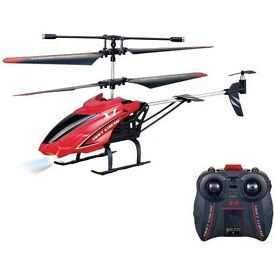 Red remote control helicopter. (Unbxed but as New never used)